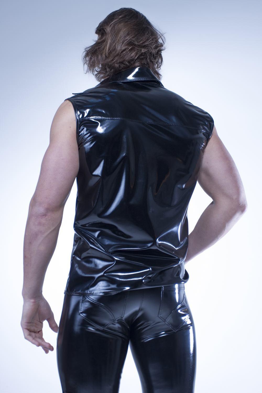 Pantalon Vinyle Homme Patrice Catanzaro