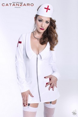 Nurse Robe Blanche