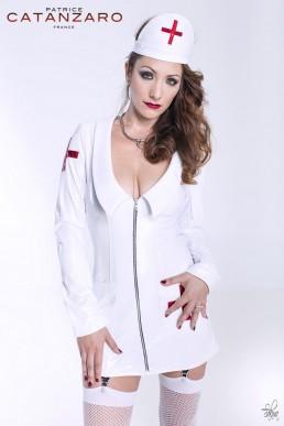 Nurse Robe Blanche