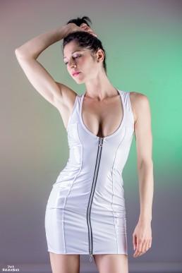 Roxy Robe Vinyle Blanc