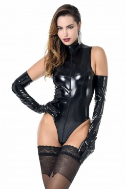 Manon body vinyle noir