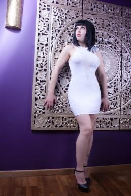 Cecily Robe Blanche