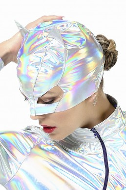 Masque Petit Chat Hologramme