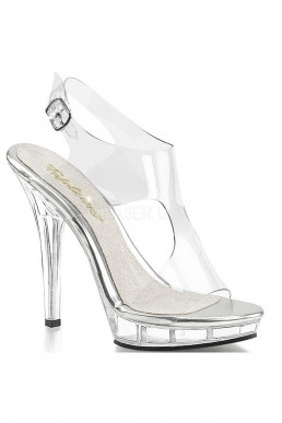 Sandales transparentes
