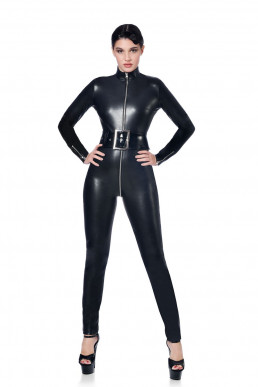 Sweety Catsuit simili cuir