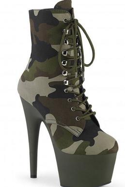Bottines Camouflage