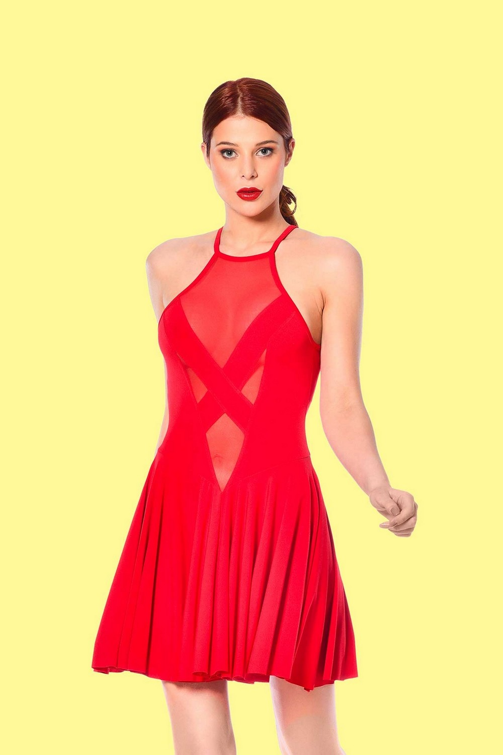Clementina Robe rouge